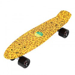 22 Inches Four-wheel Long Kick-tail Skateboard Mini Cruiser Fish Banana Board