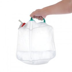 10L Portable PVC Water Carrier Bag Container with Handle