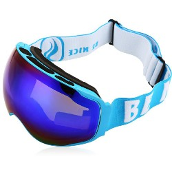 BENICE Double UV400 Anti-fog Big Skiing Goggles Mask Men Women Snowboarding Glasses