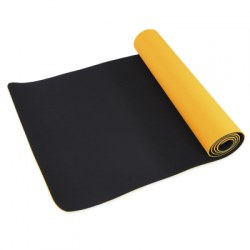 0.6CM Dual Color Yoga Mat for Fitness Exercise Training