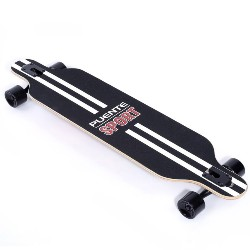 PUENTE Silent Long Skateboard Roller Scooter Entertainment Sport Kit