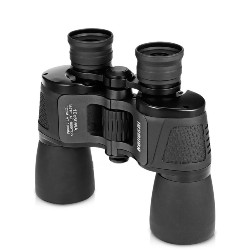 10X50 122M / 1000M HD Vision Wide-angle Prism Binocular Outdoor Folding Telescope