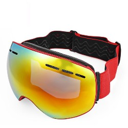 BOLLFO UV Protection Anti-fog Magnetic Skiing Goggles