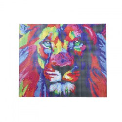 30 x 35cm Lion Pattern DIY Full Diamond Painting Kit