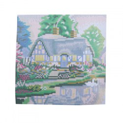 30 x 30cm Cottage Pattern DIY Full Diamond Painting Kit