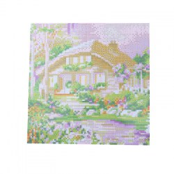 30 x 30cm Garden House Pattern DIY Full Diamond Painting Kit