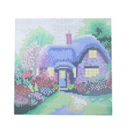 30 x 30cm Chic House Pattern DIY Full Diamond Painting Kit