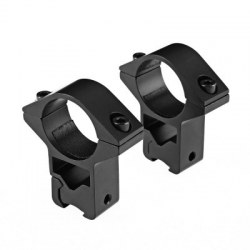 2pcs Quick Release Cantilever Weaver Forward Reach Dual Ring Handgun Scope Mount