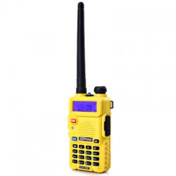 Baofeng BF-UV5R VHF / UHF Dual Band FM Transceiver LCD Dual Display Two Way Radio Walkie Talkie Interphone