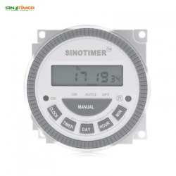 110V 16A LCD Digital Multipurpose 7 Days Programmable Control Power Timer Switch