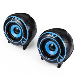 A12 2.0 Stereo Sound Wired Speaker Great Bass USB Powered for Desktop