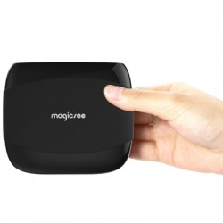 MAGICSEE N4 TV Box Amlogic S905X Android 7.1 2GB RAM + 16GB ROM 2.4G WiFi 100Mbps BT4.1 Support 4K H.265