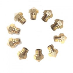 10PCS MK10 M7 Extruder Nozzle For 3D Printer Wanhao Dupicator D4/I3/Dremel