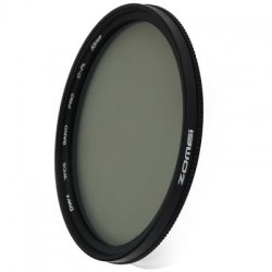 55mm Ultra Thin CPL Circular Polarizer Glass Filter Lens