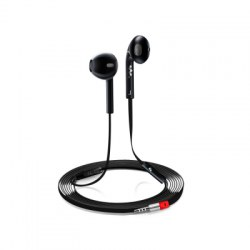 3.5 Mm Intelligent General Adjustable In-Ear Flat Wire Headset with Microphone