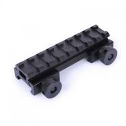 20MM Military Hunting Paintball Wargame Riser Base Scope Mount Weaver Rail