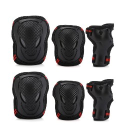 FEIYU Knee Pads Elbow Pads Wrist Guards Protective Gear Set