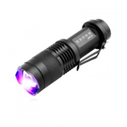 1-Mode 395nm UV Fluorescent Agent Identification Flashlight