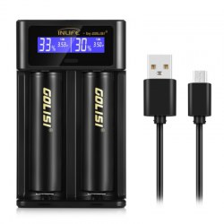 Inlife i2 Smart Battery Charger Screen Rechargeable Lithium-ion / NiMH / NiCd