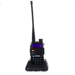 BAOFENG UV-5R UHF / VHF Walkie Talkie 128-Channel with Flashlight