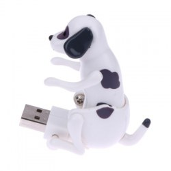 Creative USB Gadgets for PC Laptops Portable Funny Cute Pet Toy USB Humping Spot Dog