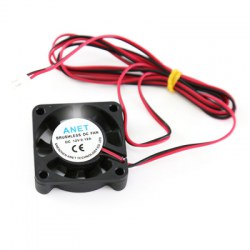 Anet DC 12V Silent Brushless Cooling Fan 2 Pin for 3D Printer Hot End