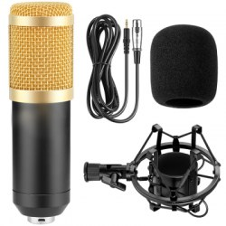 800 Wired Microphone for Karaoke Singing PC Computer Recording