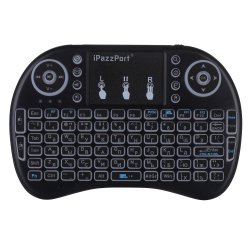 2.4G Russian Backlit Wireless Mini Keyboard USB with Touchpad for Android TV Box