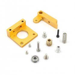 DIY MK7 MK8 i3 Extruder Aluminum Block Kit for 3D Printer