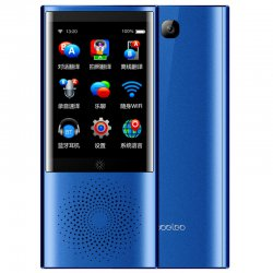 boeleo W1 AI Touch Control Voice Translator 45 Languages 2.4G + 5G WiFi BT 4.0 4G SIM 1300 Pixel