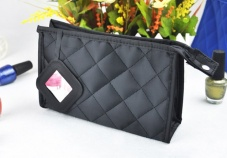 Super popular cosmetic bag fashion laptop bag (black)