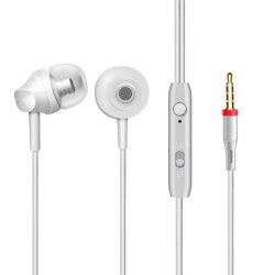 3.5mm In-ear Wired Headphones Stereo with Microphone Earbuds for Xiaomi Huawei
