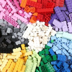 1000PCS Basic Building Brick Kit Educational DIY Set Compatible to All Major brands