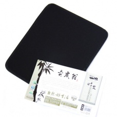 Bamboo charcoal radiation computer mouse pad