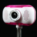 5.0 Megapixel USB Digital PC Camera Webcam w/ Mic Red