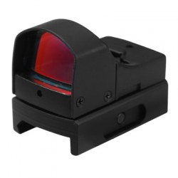 Tactical Mini Holographic Dot Reflex Sight Light Adjustable Brightness