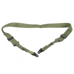 Tactical Two Point Adjustable Bungee Airsoft Strap Paintball Shotgun Sling for Hunting