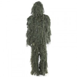 Hunting Woodland Camo Sniper Ghillie Suit Set Tactical Camouflage Clothing