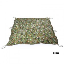 Woodland Camouflage Military Car Cover Hunting Camping Tent Net