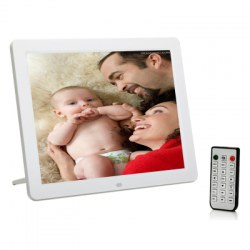 12.1 Inch LED Backlight HD 1280 x 800 Digital Photo Frame Electronic Album MP3 MP4 Full Function