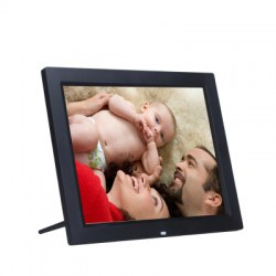 15 Inch LED Backlight HD 1280 x 800 Digital Photo Frame Electronic Album MP3 MP4 Full Function