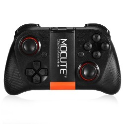 - 050 Bluetooth V3.0 Gamepad Game Controller for Android / iOS / TV Box